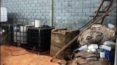 Quadrilha que roubava produto usado no tratamento de água de São Paulo é presa - O hipoclorito de sódio é usado pela Sabesp, a companhia de abastecimento no tratamento de água de quase 29 milhões de pessoas no estado. Doze pessoas foram presas.