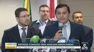 Comissão para analisar impeachment de Wilson Lima e vice é definida - Dos 17 deputados da comissão, 10 são da base do Governo.