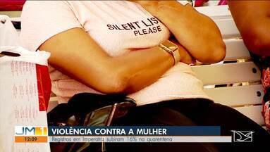 Registros de violência contra mulher sobem 16% na quarentena em Imperatriz - De acordo com os órgãos da rede de proteção a mulher, esse índice deve ser ainda maior.