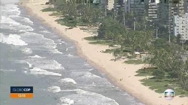 Banho de mar e funcionamento de quiosques na orla do Recife são liberados na quinta (16) - Saiba o que é e o que não é permitido nesses espaços, mesmo com a liberação.