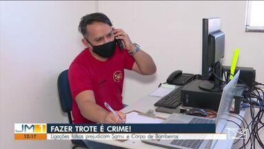 Ligações falsas prejudicam trabalho do Samu e Corpo de Bombeiros - O SAMU e Corpo de Bombeiros do município de Balsas alertam para os trotes por telefone.