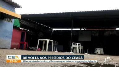 28 detentos de volta aos presídios do Ceará - Saiba mais no g1.com.br/ce