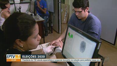 Presidente do TSE suspende biometria nas eleições municipais de 2020 em função da Covid-19 - Decisão ainda precisa ser analisada pelos demais ministros do tribunal.