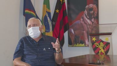 Milton Bivar discorda de previsões sobre Sport e vê Flamengo campeão na Série A - Milton Bivar discorda de previsões sobre Sport e vê Flamengo campeão na Série A