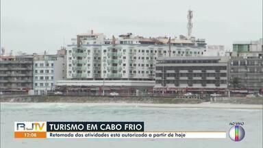 Hotéis, pousadas e espaços turísticos voltarão a funcionar em Cabo Frio - Prefeitura publicou um decreto liberando o funcionamento com regras a partir desta quarta (15).