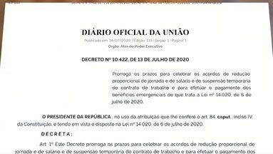Acre fechou 21 mil acordos para evitar suspensão de contrato de trabalho na pandemia - Acre fechou 21 mil acordos para evitar suspensão de contrato de trabalho na pandemia