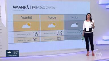 Massa de ar frio aumenta a nebulosidade em Minas Gerais - Confira a previsão do tempo para Minas Gerais.