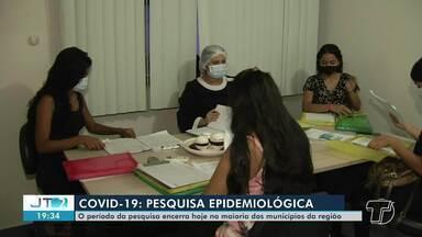 Período de pesquisa epidemiológica da covid encerrou nesta quarta-feira, 15, em Santarém - Estudantes da Uepa se organizaram para enviar dados para Belém (PA).