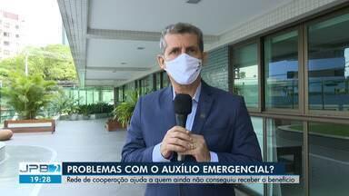 Rede de cooperação ajuda a quem ainda não conseguiu receber o auxílio emergencial, na PB - Veja as informações com a repórter Silvia Torres.