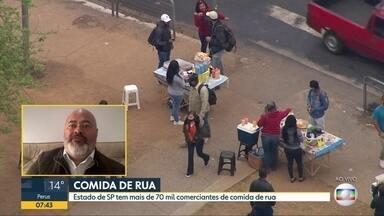 Vendas de comida de rua caíram 87% em todo o estado - São mais de 70 mil comerciantes em São Paulo.