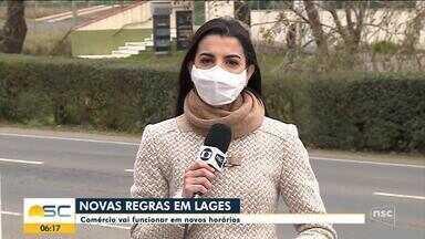 Coronavírus: Comércio vai funcionar em novos horários em Lages - Coronavírus: Comércio vai funcionar em novos horários em Lages