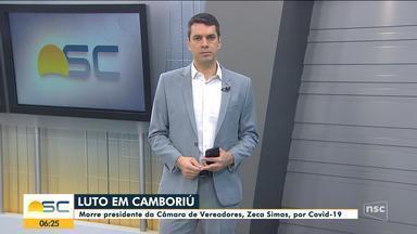 Morre presidente da Câmara de Camboriú, Zeca Simas, por Covid-19 - Morre presidente da Câmara de Camboriú, Zeca Simas, por Covid-19
