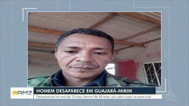 Homem desaparece ao sair para caçar na região de Guajará-Mirim - Polícia segue fazendo as buscas na região.