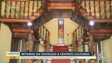 Palácio Rio Negro retorna atividades a partir de hoje - Espaço recebe visitantes.