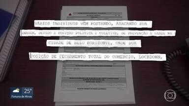 Polícia Civil investiga ameaças a presidente do Conselho Municipal de Saúde de BH - Carla Anunciatta registrou um boletim de ocorrência nesta semana, afirmando ter sido ameaçada após defender políticas de isolamento e até propor lockdown da cidade.