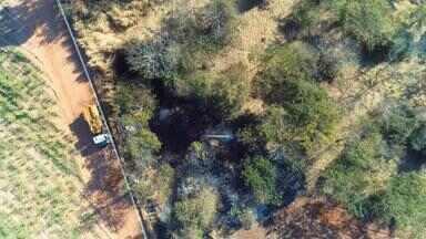 Polícia Ambiental faz operação para evitar o desmatamento na região de Rio Preto - A Polícia Ambiental está fazendo nesta sexta-feira (17) uma operação pra evitar o desmatamento. Isso é para que o estado continue mantendo bons índices. No ano passado o desmatamento da mata atlântica no estado caiu 55%.