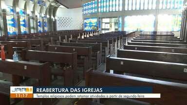 Templos religiosos podem retomar atividades a partir da próxima segunda-feira (20) - A abertura acontece na primeira etapa de flexibilização do comércio em Boa Vista.