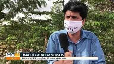 Sarau Psia completa 10 dez anos de fundação - Inter TV dos Vales produz reportagem especial para comemorar a data.