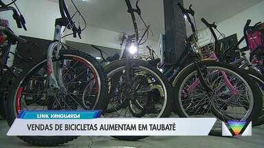 Vendas de bicicletas aumentam em Taubaté - Lojas que trabalham com vendas e manutenção de bicicletas registraram aumento de vendas.