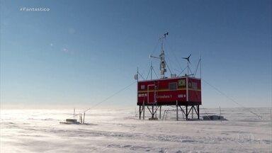 Conheça Criosfera 1, módulo brasileiro de pesquisa isolado no interior da Antártica - Pela primeira vez uma equipe de reportagem viajou com os cientistas e mostra as condições severas do acampamento no gelo - e como funciona este duro e importante trabalho. Em 2020, cientistas brasileiros não irão à Antártica, por causa da pandemia.