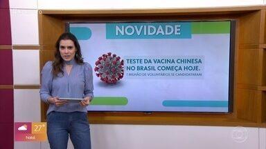 Michele Loretto fala sobre as pesquisas com vacinas contra a Covid-19 - Quase 100 mil visons foram infectados na Espanha e terão que ser sacrificados