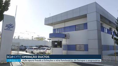 Operação apura fraude a licitações e mira funcionários da Sanepar e empresários - O Gaeco prendeu 15 pessoas e cumpriu 51 mandados de busca e apreensão em várias cidades do Paraná.