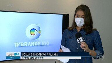 Fórum online será realizado em Petrolina para discutir proteção à mulher - A repórter Amanda Franco tem outras informações.