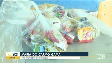 Estudantes da rede municipal reclamam de falta de merenda escolar em Santa Inês - Distribuição está sendo feita com meses de atraso.