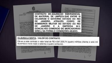 Auditoria aponta sobrepreço em compras feitas pelo Corpo de Bombeiros - Conclusão de relatório é que governo do Rio de Janeiro pagou muito mais caro do que valor de mercado em produtos durante a pandemia.