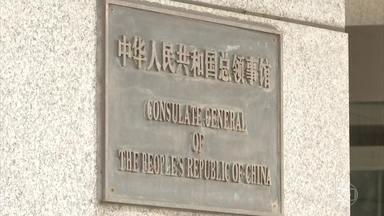 Casa Branca ordena que Pequim feche consulado em Houston no Texas - O governo da China agora disse que foram feitas ameaças de bomba contra a embaixada em Washington.