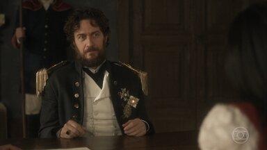 Anna ameaça contar tudo o que sabe sobre Thomas Johnson - Thomas acusa Anna de não saber distinguir entre o certo e o errado