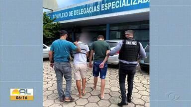 Operação da polícia prende quadrilha em Maceió - Criminosos faziam arrastões na parte baixa da capital.