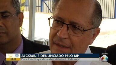 Geraldo Alckmin é denunciado pelo Ministério Público - Promotoria diz que ele recebeu dinheiro da Odebrecht.