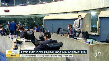 Os destaques da política com Inácio Aguiar - Saiba mais em g1.com.br/ce