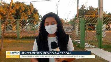 Médicos do estado são enviados para ajudar em força tarefa no Heuro - Oito médicos chegam à Cacoal nesta sexta-feira.