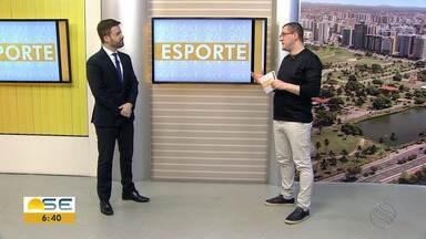Thiago Barbosa conta as notícias do esporte sergipano - Thiago Barbosa conta as notícias do esporte sergipano.