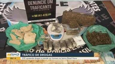 Policia Civil apreende drogas e prende homem no bairro Brasil Novo em Macapá - Policia Civil apreende drogas e prende homem no bairro Brasil Novo em Macapá