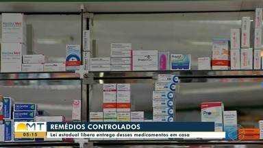 Lei estadual permite entrega em casa de medicamentos controlados - Lei estadual permite entrega em casa de medicamentos controlados