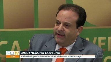 André Moura volta a assumir Casa Civil de Witzel - Mudança de titular da pasta é estratégia do governador para tentar melhorar articulação com Alerj.
