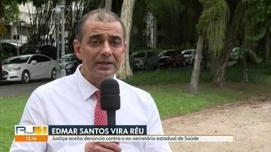 Edmar Santos vira réu - Justiça aceitou a denúncia contra o ex-secretário estadual de Saúde no processo que apura desvios durante a pandemia.