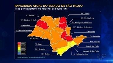Bauru e Marília registram alta nos casos de coronavírus em cálculo da média móvel - No dia em que o governo manteve as duas cidades na fase laranja, a produção da TV TEM analisou a média móvel de novos casos de Covid-19 em um intervalo de 14 dias. Marília quase dobrou o número de casos em comparação ao início da nossa contagem. Já Bauru teve alta expressiva, na casa dos 60%.