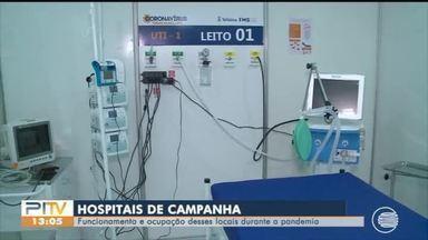 Veja como é o funcionamento dos hospitais de campanha - Veja como é o funcionamento dos hospitais de campanha