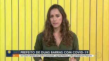 Prefeito de Duas Barras com Covid-19 é encaminhado para hospital de Itaperuna - Transferência é para um melhor acompanhamento do avanço da doença.