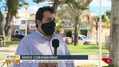 Covid-19: Itapemirim cai do risco alto para o moderado - Veja a reportagem!