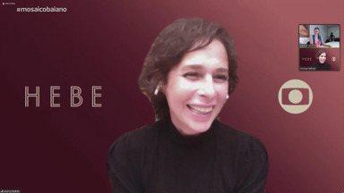 Atriz Andréa Beltrão fala sobre as emoções em viver Hebe Camargo em série - Atriz Andréa Beltrão fala sobre as emoções em viver Hebe Camargo em série