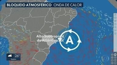 Previsão de tempo firme em São Paulo - Massa de ar seco garante o sol e o calor em todo o estado. Tem virada no tempo no domigo com chance de chuva fraca e queda de temperatura.