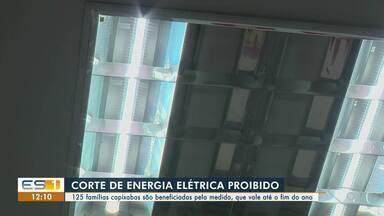 Famílias capixabas são beneficiadas com proibição de corte de energia pela Aneel - Confira na reportagem.