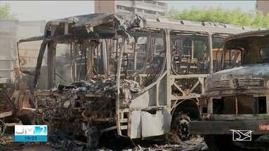 Operação busca conter ataques criminosos em Imperatriz - Só na última semana, quatro incêndios foram registrados na cidade.