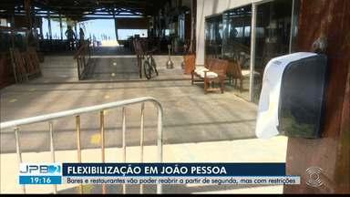 Bares e restaurantes retomam atividades a partir de segunda-feira (27), em João Pessoa - Essa é a 4ª etapa do plano de retomada na capital