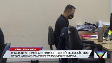 Regras de segurança no Parque Tecnológico de São José - Confira.